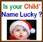 Is your child's name lucky image