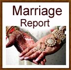 Marriage Report