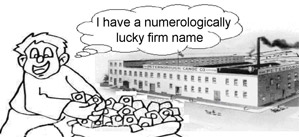 Lucky firm name benefits image