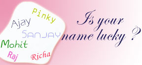 Is your name lucky ?